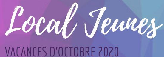 La plaquette des activités jeunes pendant les vacances d'Octobre : Flyer Octobre 2020